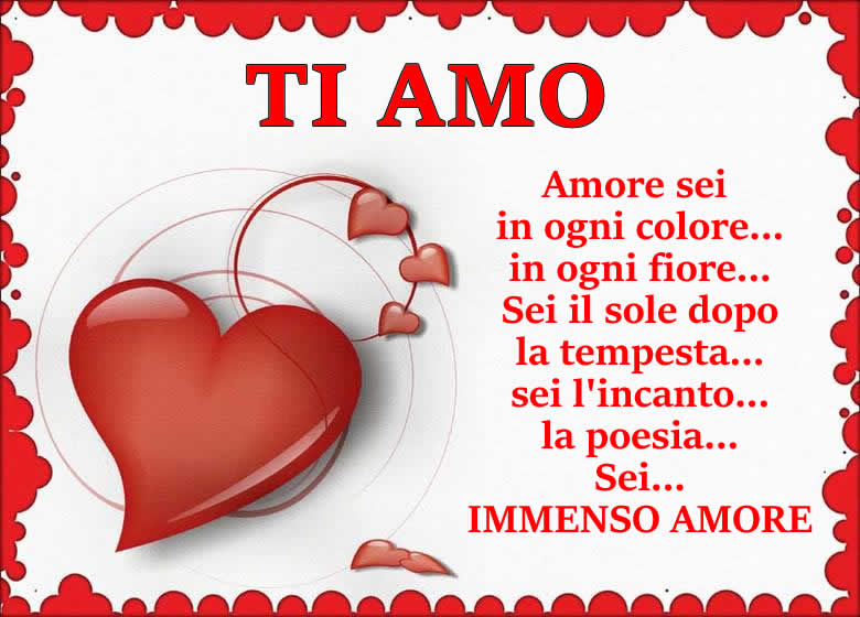 AMORE IMMENSO