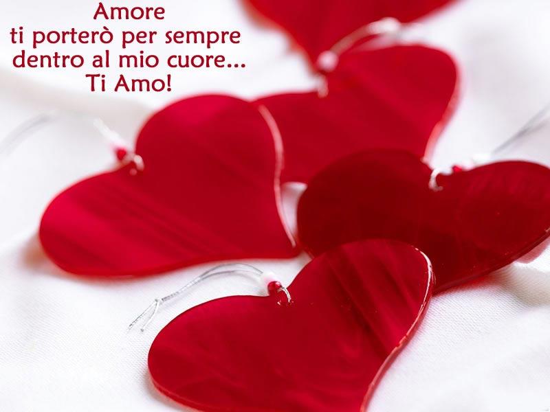 Bellissima immagine d 39 amore cuori con frase d 39 amore for Immagini natalizie d amore