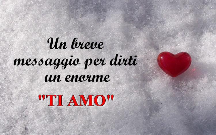 Immagine messaggio d 39 amore dolce for Immagini natalizie d amore