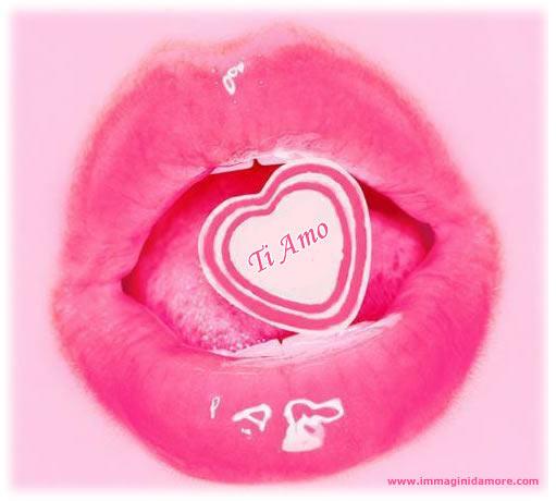 Immagine d 39 amore labbra ti amo for Immagini natalizie d amore