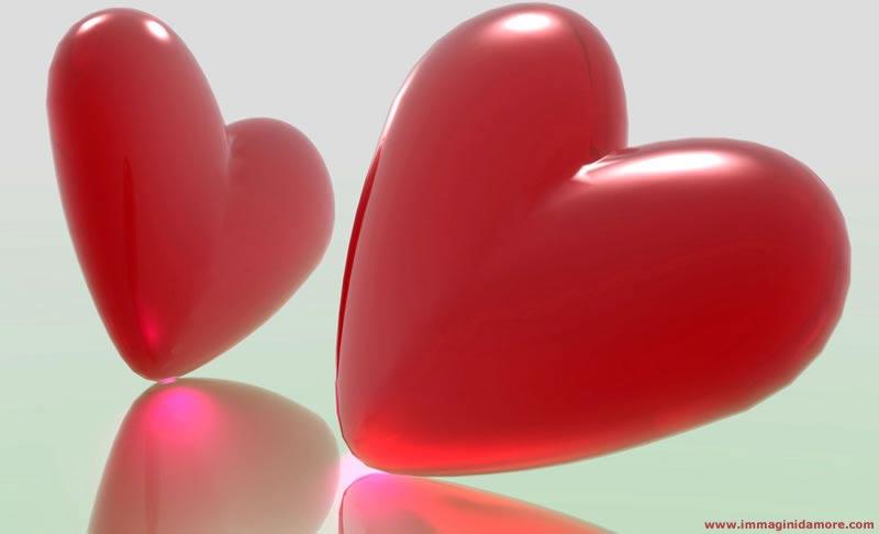 Bellissima immagine d 39 amore cuore rosso for Immagini natalizie d amore