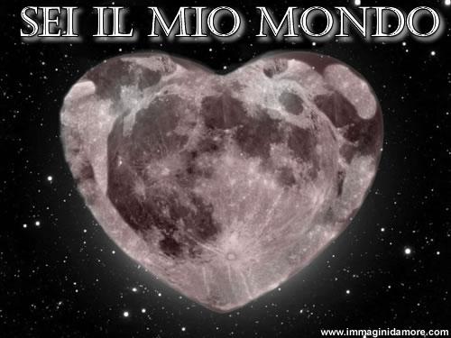 Immagine d 39 amore con cuore a forma di mondo for Immagini natalizie d amore