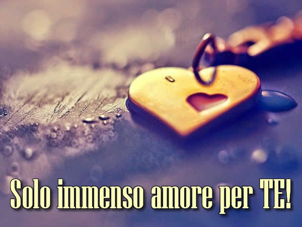IMMENSO AMORE