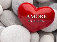 Frase d'Amore con cuore